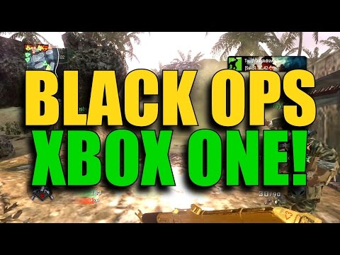 Call of Duty Black Ops on Xbox One Gameplay! (Backwards Compatible)