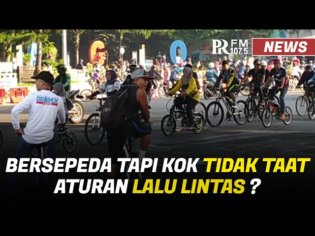 Kerap Disebut Arogan, Komunitas Pesepeda di Bandung Kampanye Keselamatan Bersepeda