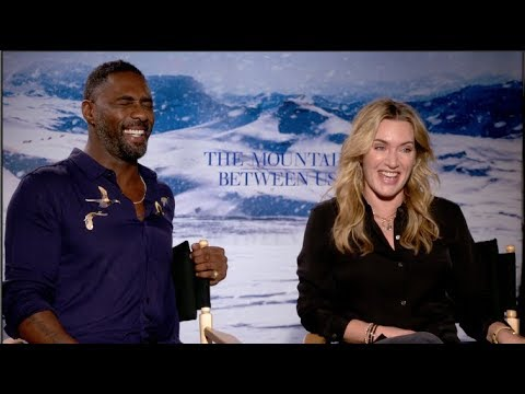 Kate Winslet and Idris Elba interview - THE MOUNTAIN BETWEEN US