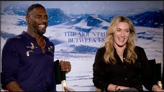 Download Video Kate Winslet and Idris Elba interview - THE MOUNTAIN BETWEEN US MP3 3GP MP4