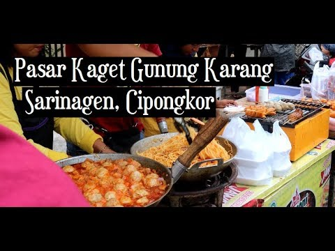 Download Pasar Kaget Gunung Karang, Sarinagen, Cipongkor, KBB