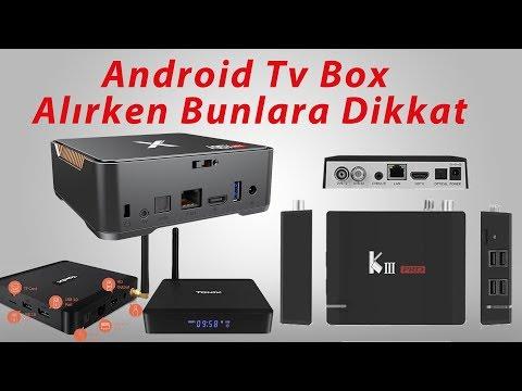 Android Tv Box Almadan Bunlara Mutlaka Dikkat Edin...