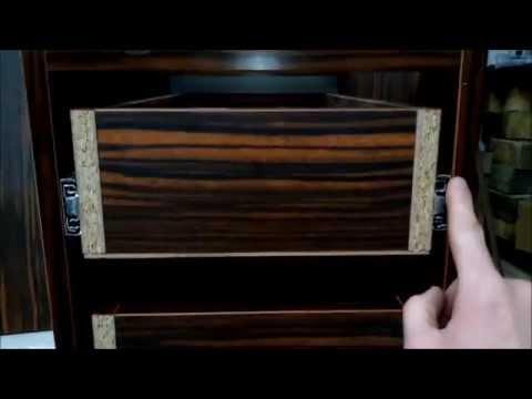 Как сделать расчет (спецификацию, деталировку) тумбы с выдвижными ящиками