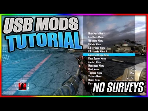 Black Ops 2: How to Install NEW USB MODS! | Tutorial + PROOF! | Xbox 1, PS3, XBOX, PC [BO2 USB MODS]