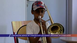 L'orchestre Démos de Chanteloup-les-Vignes organise un stage d'été