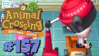 Let's Play Animal Crossing: New Leaf - Welcome amiibo :: #157 :: Mayor Makeover (1080p gameplay)