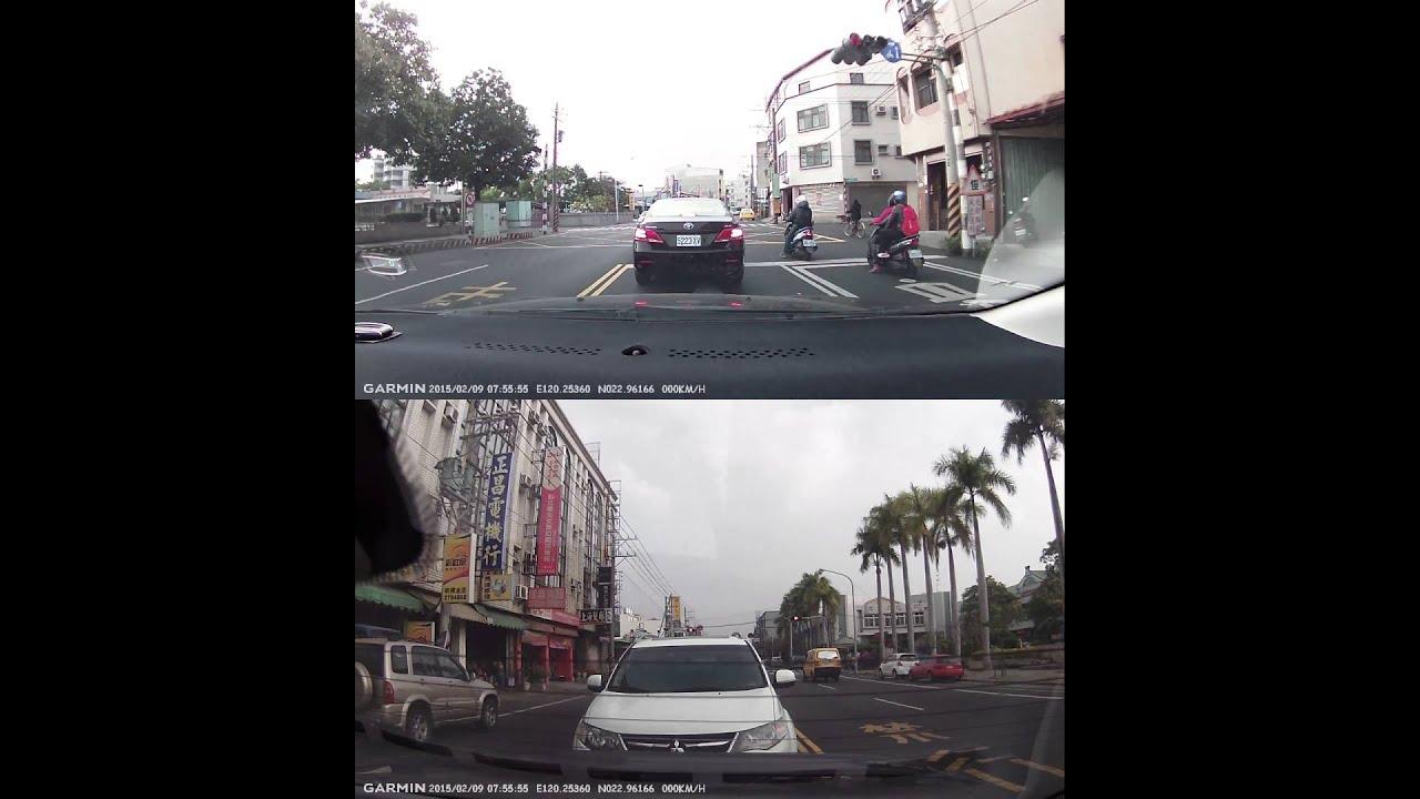 [GDR45D]2015.02.10-當逆向闖紅燈遇上紅燈左轉 - YouTube