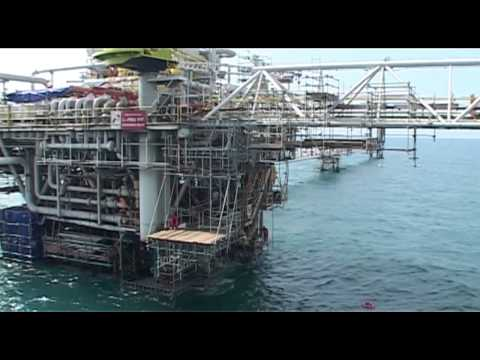 "Serial How To Make The Things: ""How to repair offshore platform 2"" Segment 2 of 4"