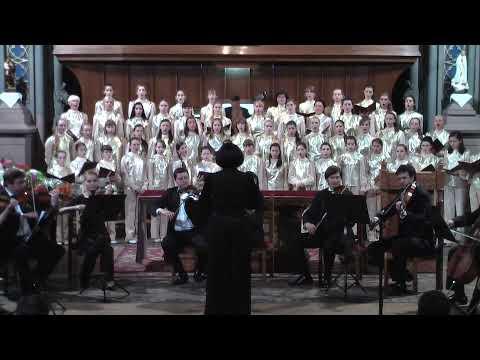 Pergolesi-Stabat Mater( №1) Киевский детский хор РАДОСТЬ,дирижер Лариса Санцевич
