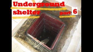 UNDERGROUND shelter, How to build an underground Bunker!!! #6