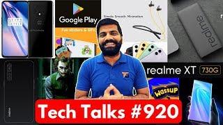 Tech Talks #920 - Realme XT 730G is Here, OxygenOS, Oppo 65Watts, iPhone 11, Joker Malware