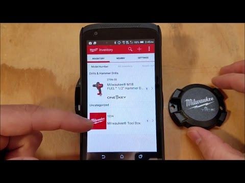 Milwaukee One-Key Tick Bluetooth Tracker Hardware Review (1 of 2)