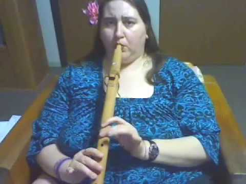 Native American Flute by Mohican Wenona Buffy