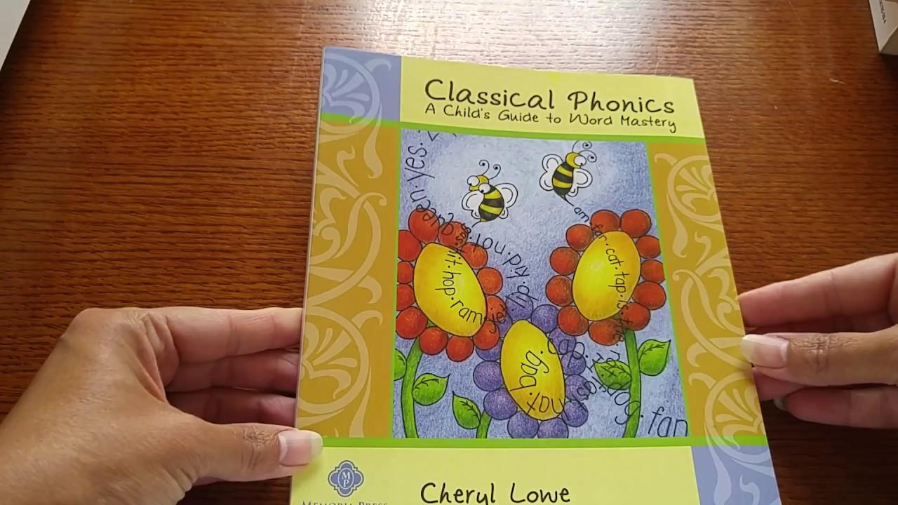 Workbooks rod and staff workbooks : Memoria Press Classical Phonics - YouTube