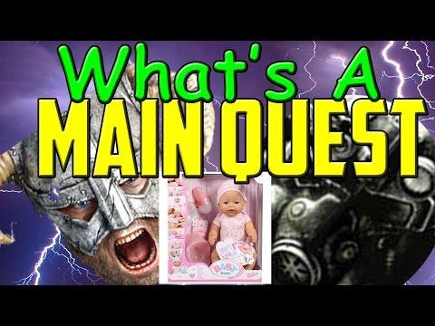 Fallout/Elder Scrolls: Main Quest vs Open World. Player Agency & Immersion