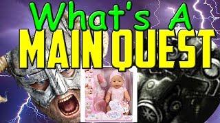 FalloutElder Scrolls Main Quest vs Open World Player Agency  Immersion