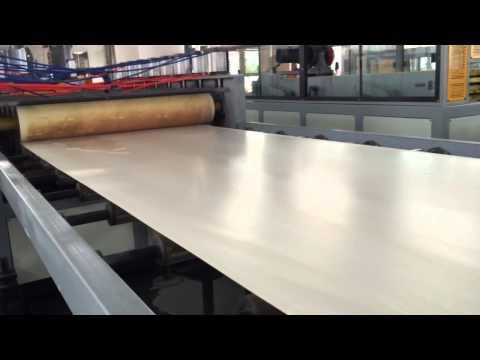 PVC board machine Celuka structural foam process