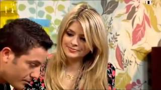 Dumb Blonde Host Insults TV Chef To His Face