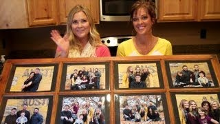 Window Pane Picture Frame!!