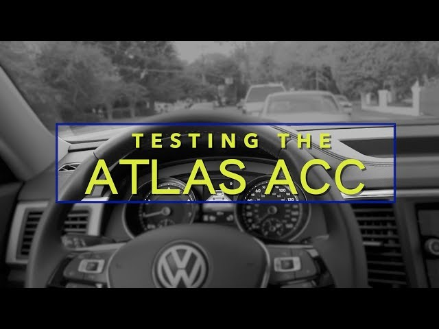 ACC (Adaptive Cruise Control) REVIEW - New 2018 VW ATLAS SE/Technology | Traffic Test - Hwy Speeds