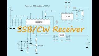 Receiver direct conversion SSB/CW chip MK3361