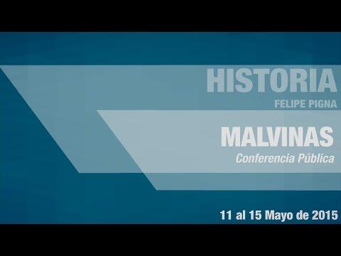 "Conferencia de Felipe Pigna ""Malvinas"""