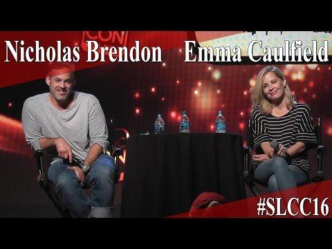 Buffy Reunion  Emma Caulfield & Nicholas Brendon  Full PanelQ&A  SLCC 2016