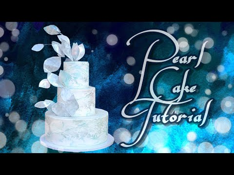 Mother of Pearl cake tutorial