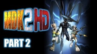 Lets Play MDK2 HD - Part 2 (PC Gameplay)