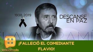 ¡Falleció el comediante Flavio! |Programa del 18 de septiembre de 2019 |Ventaneando