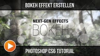 Bokeh Effekt erstellen | Photoshop Tutorial | [German] [Full-HD] | Molten Pixel TV