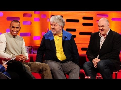 How to pronounce Pedro Almodovar's surname  The Graham Norton   Series 13 Episode 4  BBC One