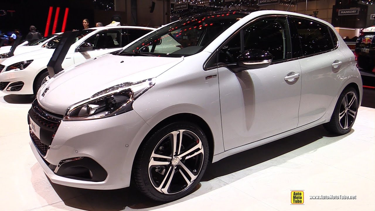 2016 peugeot 208 gt line pure tech 110hp s s exterior interior walkaround 2015 geneva motor. Black Bedroom Furniture Sets. Home Design Ideas
