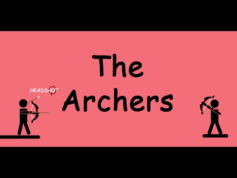 The Archers. Hey! Do you want a some archery? We have something to shoot ;)