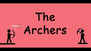 the archers hey do you want a some archery we have something to shoot