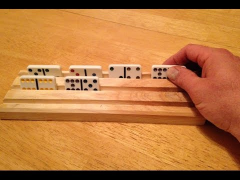 How To Make A Dominoes Holder From Scrap