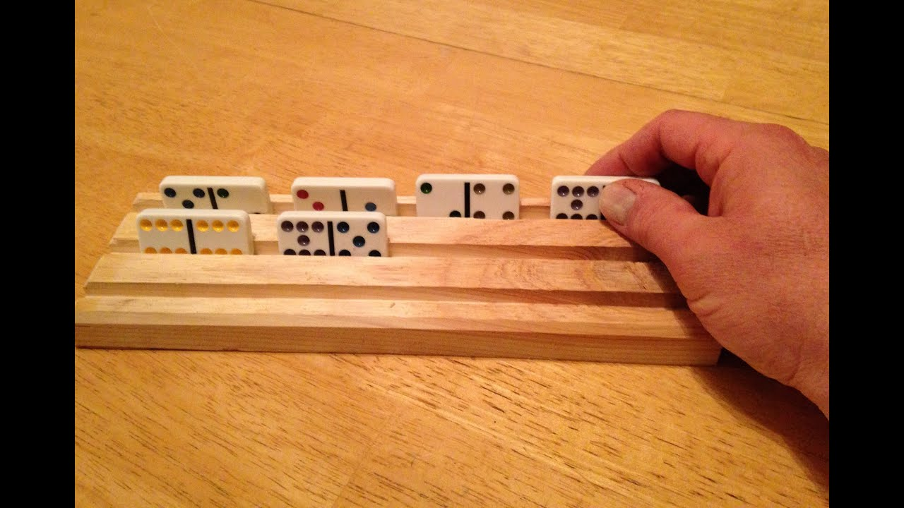How To Make a Dominoes Holder from Scrap - YouTube
