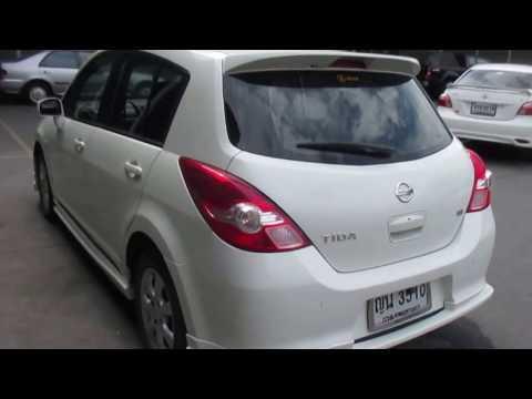 รถเก๋งมือสอง รถราคาถูก Nissan (นิสสัน) TIIDA 1.8 TOP สีขาว ปี 2011 เกียร์ออโต้ #UC62