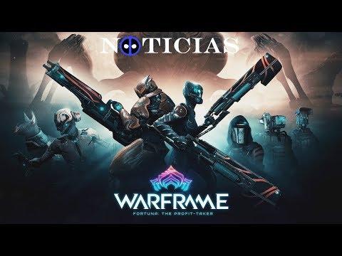 Noticias Warframe  - Fortuna: The Profit Taker - Baruuk - Nuevas Armas - Nuevos Mods - Cambios y más thumbnail