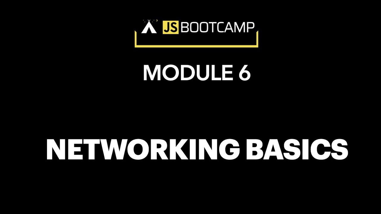 The basics of Networking. HTTP, TCP...