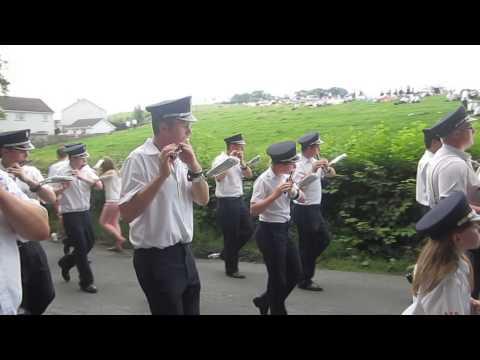 Brookeborough Flute Band @ 12th July 2013, Ballinamallard.
