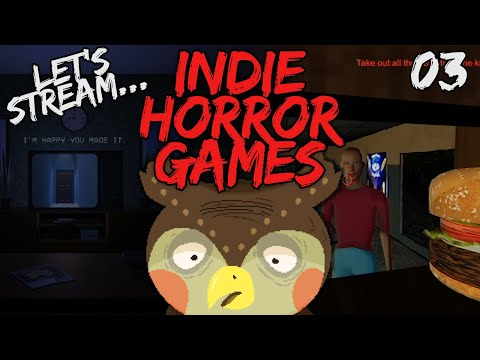 Let's Stream Some Indie Horror Games 03