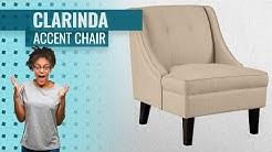 Ashley Furniture Signature Design -Clarinda Accent Chair - Wingback - Modern - Choose Color