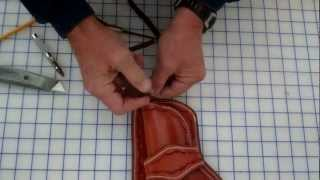 Making a Pommel Holster Part 2  of 2  Fabrication