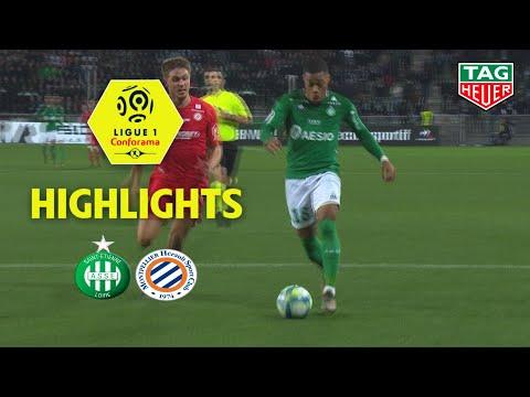 AS Saint-Etienne - Montpellier Hérault SC ( 0-0 ) - Highlights - (ASSE - MHSC) / 2019-20