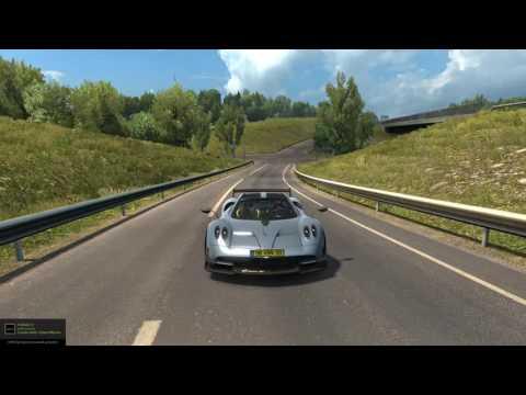 Euro Truck Simulator 2 | Pagani HyuraBC Alpha V0.1