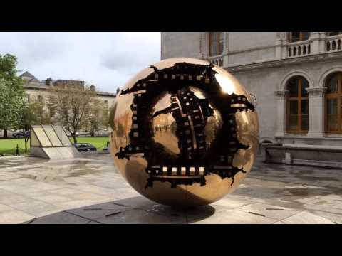 The Globe at the Trinity College Dublin Ireland