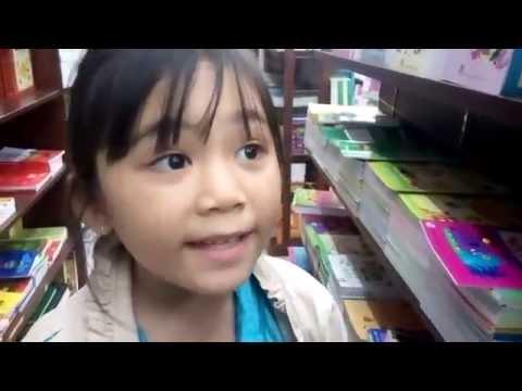 Đi siêu thị coopmart Đồng Xoài ( Nhà sách FAHASA)   P1