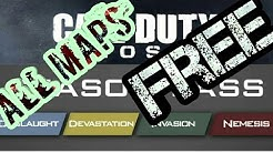 How to get all DLC maps on COD Ghost