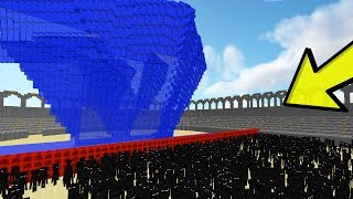 10.000 ENDERMANS VS. TSUNAMI (MINECRAFT MOONKASE)